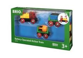 Brio World Battery Operated Action Train